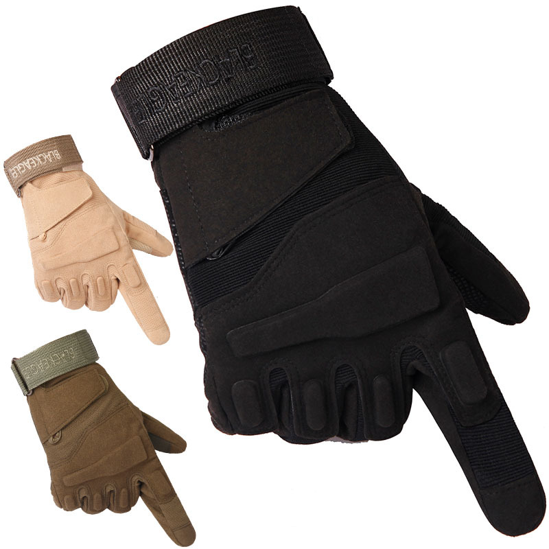 Black Hawk Tactical Gloves All Fingers Cut-proof and Wind-proof Outdoor Skid-proof and Wear-proof for Special Forces