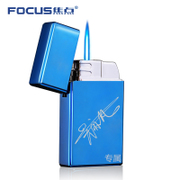 Inflatable lighter laser gas lighter lighter male personality into the creative custom lettering to send her boyfriend