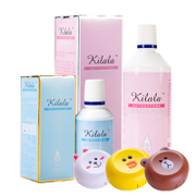Mirror box can be Lala care solution, invisible myopia glasses, beauty pupil lotion, 500ml+120ml cleaning protein removal