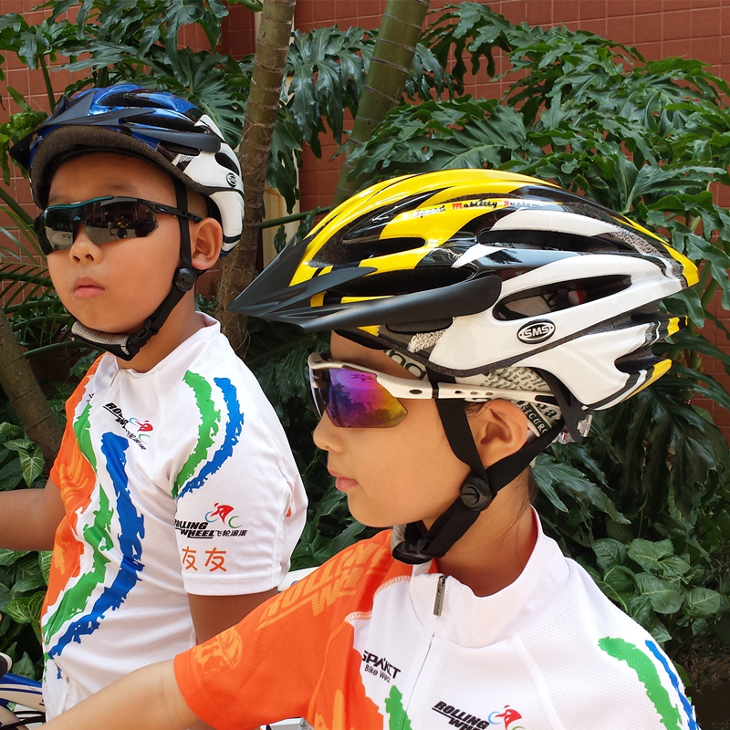 SMS/Kusa Mountain Bike Helmets for Primary and Secondary School Students Forming Safe Helmets for Male and Female Adults