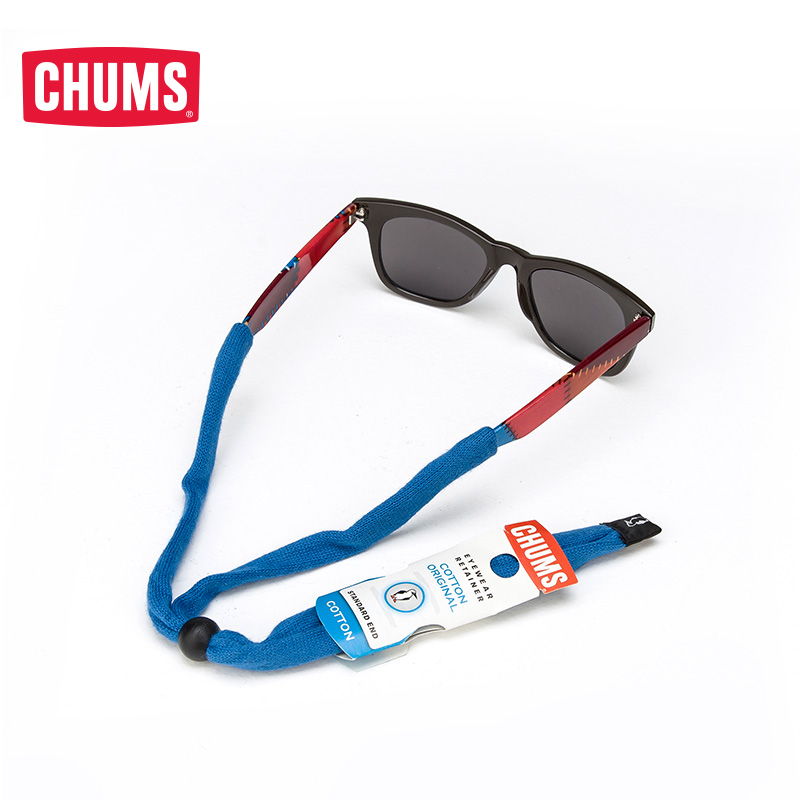[The goods stop production and no stock]CHUMS/ Qiaqiu Bird US outdoor tide brand US hand-sewn cotton sports glasses rope 12115