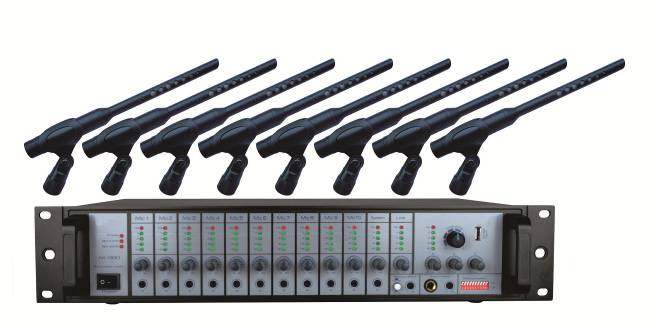 [The goods stop production and no stock]Tianchuang Hengda TC-L10 high-sensitivity squelch recording audio collection professional recording audio mixer