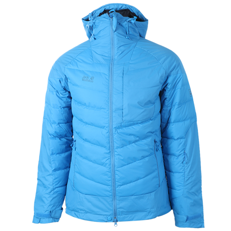 [The goods stop production and no stock]Jackwolfskin wolf claw men's jacket winter outdoor hooded windproof lightweight warm down jacket 1201732