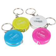Effective 8214 candy color mini tape measure portable mini scale height measurements measuring tape tape.