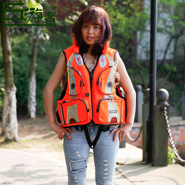 Men's life jacket, adult life snorkel, sea fishing, rock fishing, fishing vest, life jacket foam