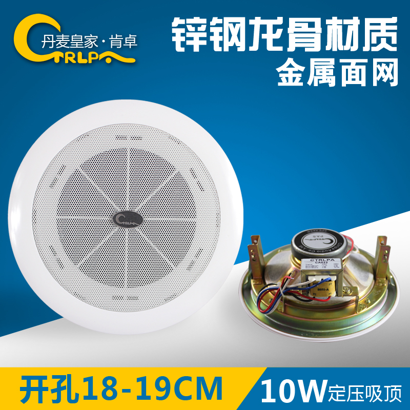 CTRLPA CA021 constant pressure broadcast system ceiling audio ceiling speaker clothing store ceiling embedded speakers