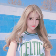 South Korea female long hair wig in the air Liu Haibo hair fluffy vivid natural large scalp headgear