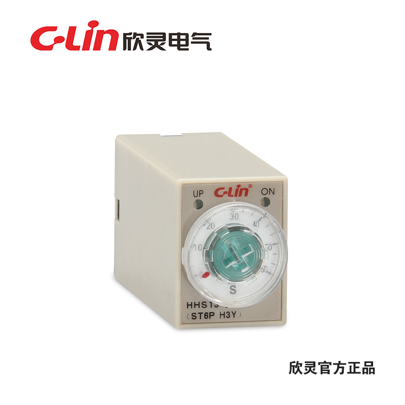 Yan Ling ST6P-2 time relay H3Y-2 introduction timer HHS13 delay switch AC220V DC24V