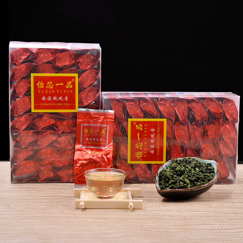Tieguanyin Luzhou Oolong Tea New Tea Alpine Genuine 1725 Autumn Tea Bulk 500g