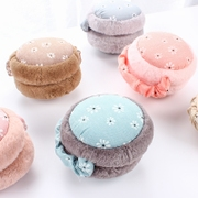 Folding earmuffs warm female Korean cute fashion cashmere earmuffs with thickened cold ear ear ear warm winter.