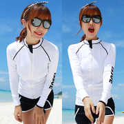 Korean diving suits, women's split lovers suits, jellyfish clothing, surfing, snorkeling suits, men's sun bathing suits, long sleeve trousers