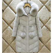A special offer 2017 new season processing down jacket girls long slim knee Korean Korean winter tide