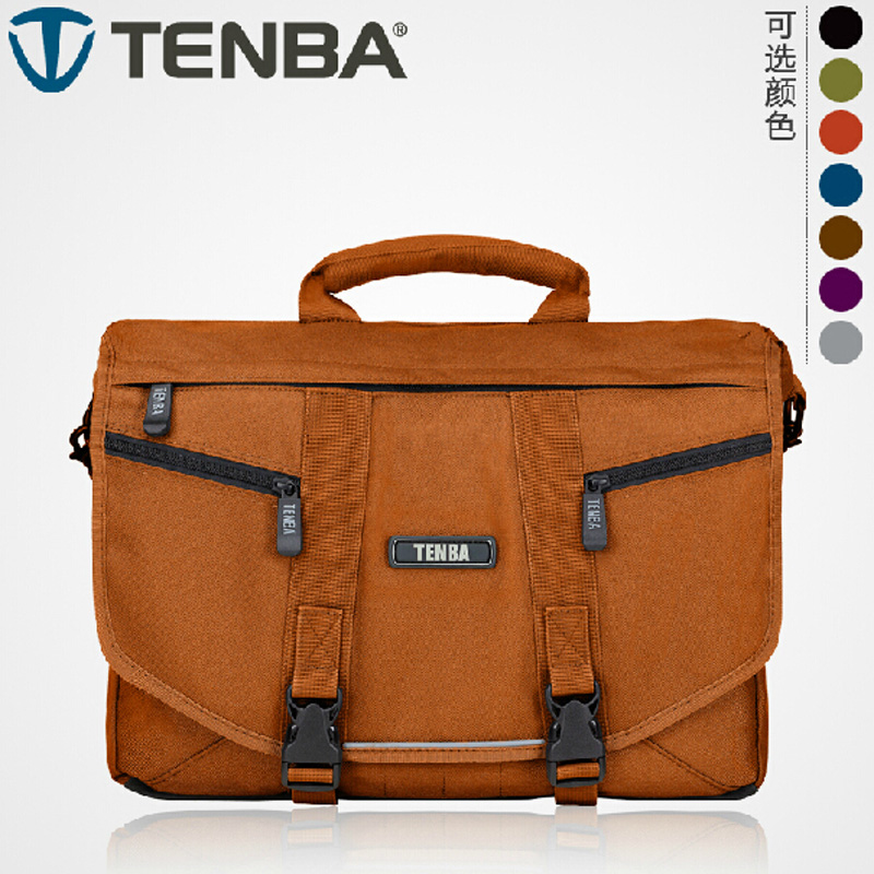 Buy tenba camera bags, TENBA tense messenger series Messenger professional one-shoulder SLR camera bag small photography computer bag