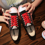 2017 summer new canvas shoes female Korean students ulzzang Harajuku street shoes white shoes