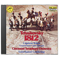 Genuine Tchaikovsky 1812 Overture Italy Carnival Import CD TELARC CD80041