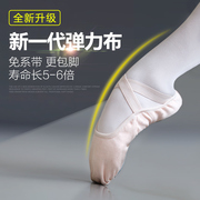 Dance shoes soft bottom female Kungfu shoes adult ballet shoes shoes canvas shoes Yoga Child Girls Body cat claw shoes