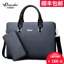 Di Monti boutique business men's bags fashion handbags men's travel briefcases cross-Shoulder Messenger computer bags