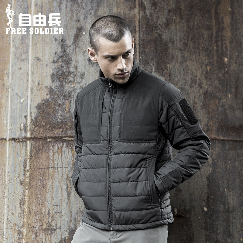 Agent's New Tactics in Autumn and Winter: Waterproof, Wind-proof, Thickened Inner Liner Cotton Clothing, Sports Zipper, Warm Cotton Clothing, Men's Charge Clothing