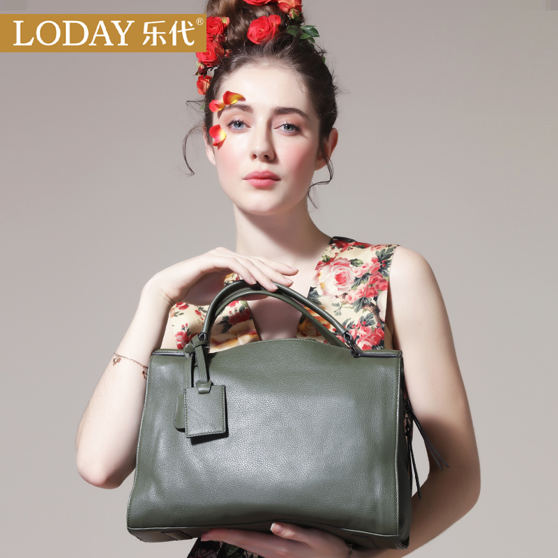 Ledai leather lady bag and lady bag in spring and summer of 2019