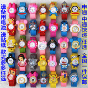 Pat table shipping ring pops cute baby boy and girl children watch cartoons table jelly student electronic watch