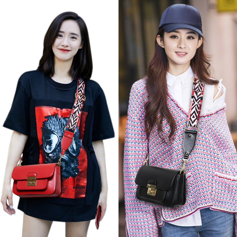 Broadband Messenger Bag on the new summer small bag female 2018 new wave Korean version of the wild ins small square bag shoulder bag
