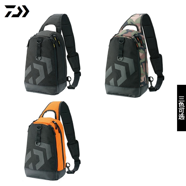 Genuine Daiwa Daiwa Daiwa Daiwa (C) Single Shoulder Backpack Road Sub-bag Multifunctional Receiving Bag Special Price