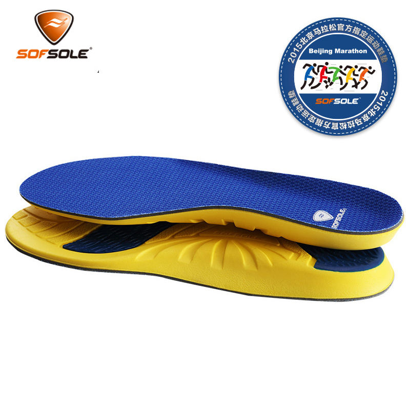 SOFSOLE Shuzuo speed men and women models 2017 new ATHLETE leisure cushioning comfortable sports insole