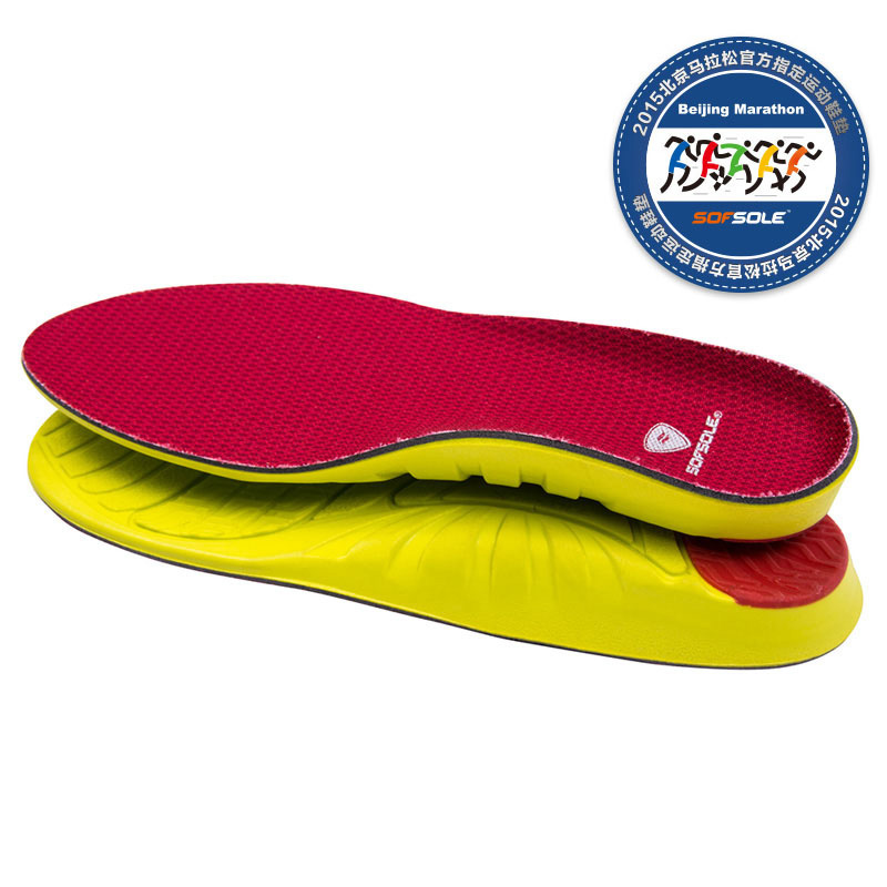 SOFSOLE Shu foot speed music insole men's women's ARCH leisure sports cushion shock absorber running insoles