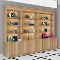 Cosmetics display cabinet partition container shelves supermarket wine cabinet package rack pharmacy showcase beauty salon products showcase
