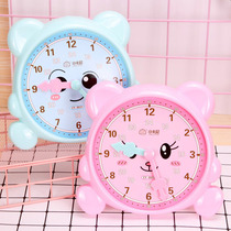 Little Carney 0031 first grade two-pin clock teaching aids primary school students know the time hour learner math clock 錶