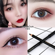 Carslan Eyeliner Pencil adhesive, waterproof, sweat proof, non staining, long lasting, no staining, female net Red Genuine beginner.