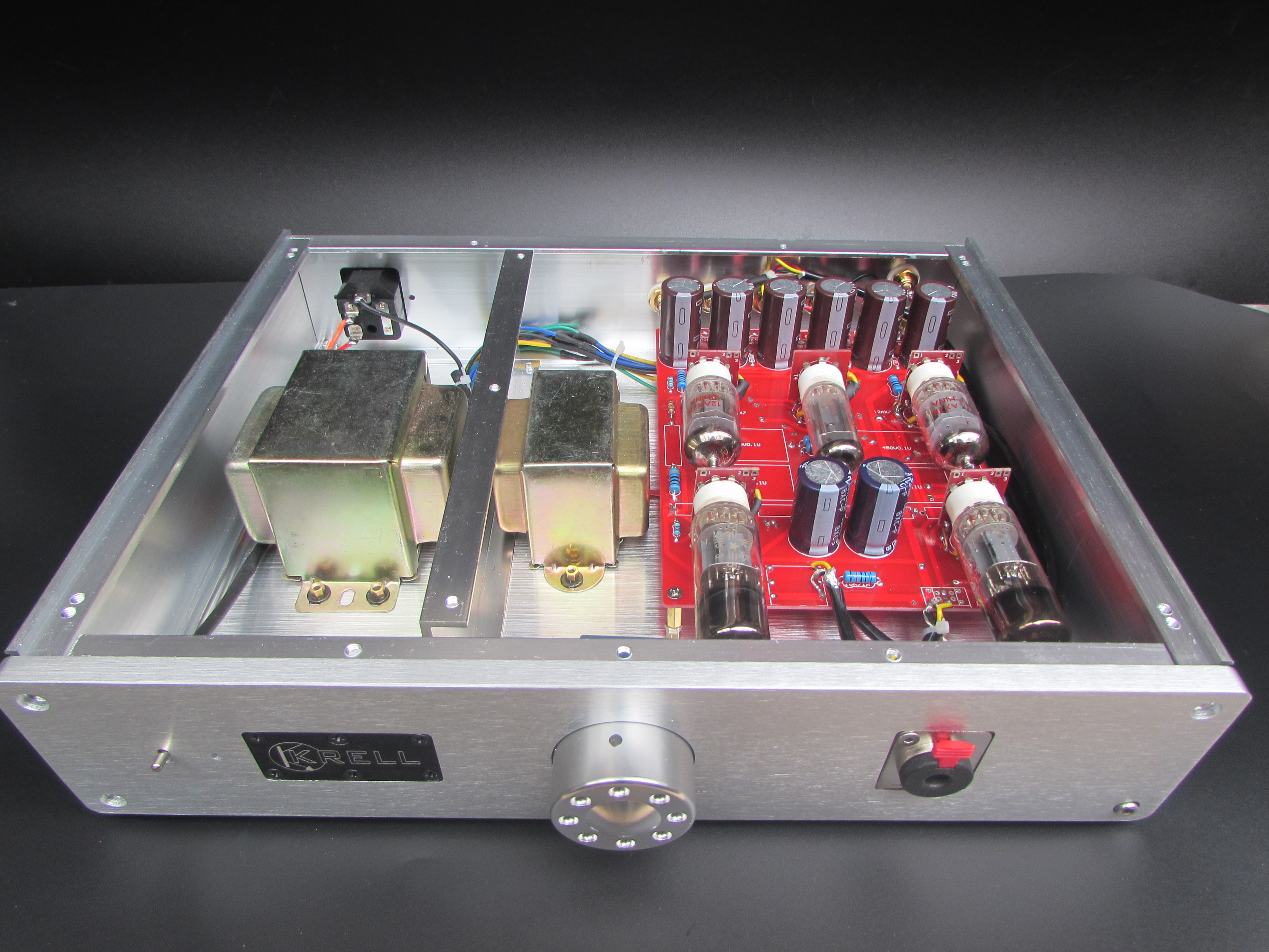 Hetian Mao's bile preamplifier bile ear M7 12AX7 electronic tube main amp deputy pre-finished machine