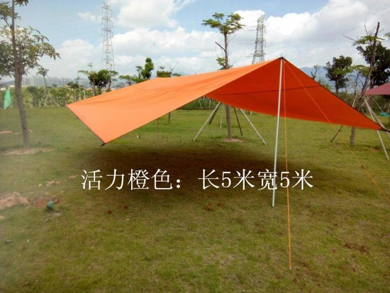 Large Canopy Waterproof And Windproof Beach Advertising Tent Outdoor Barbecue Awning Pergola Carport