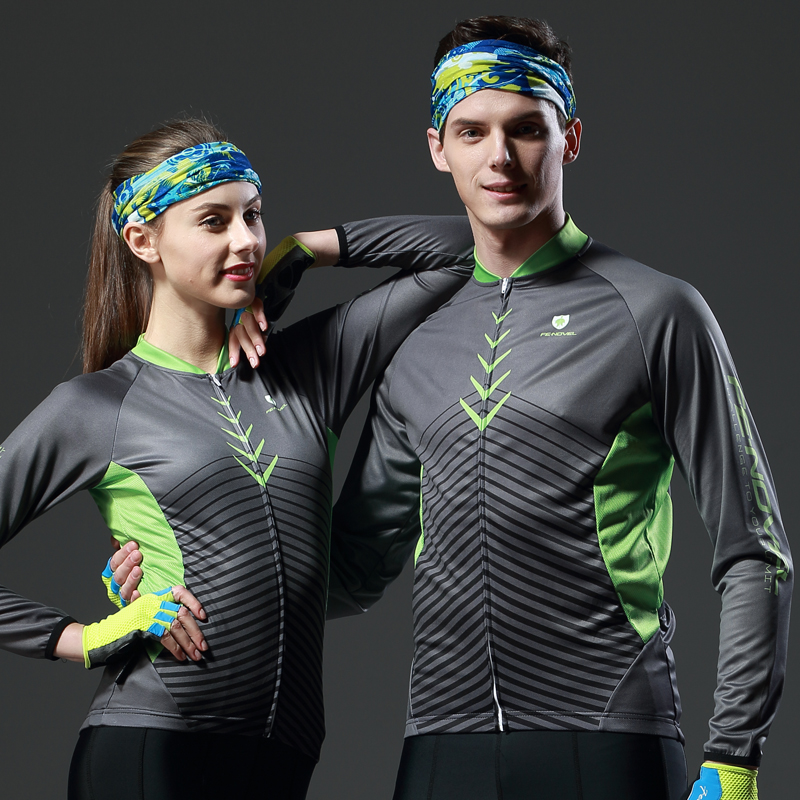 Summer long sleeve cycling suit for women mountain bicycle road cycling suit for men's leisure cycling equipment customized in autumn and winter