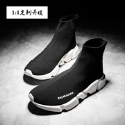 Europe men's new spring and summer Paris sock shoe male GD casual shoes with high thick soled shoes