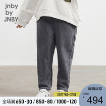 Shopping mall with] Jiangnan common childrens clothing 20 spring new fashion retro denim trousers 1KB312260