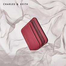 CHARLES&KEITH2020 autumn new product CK6-50770443 ladies fashion color matching mini wallet card case