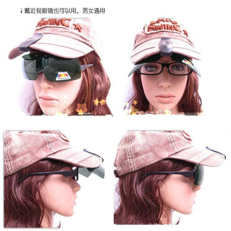 [The goods stop production and no stock]Cap Polarized Fishing Glasses Outdoor Glasses