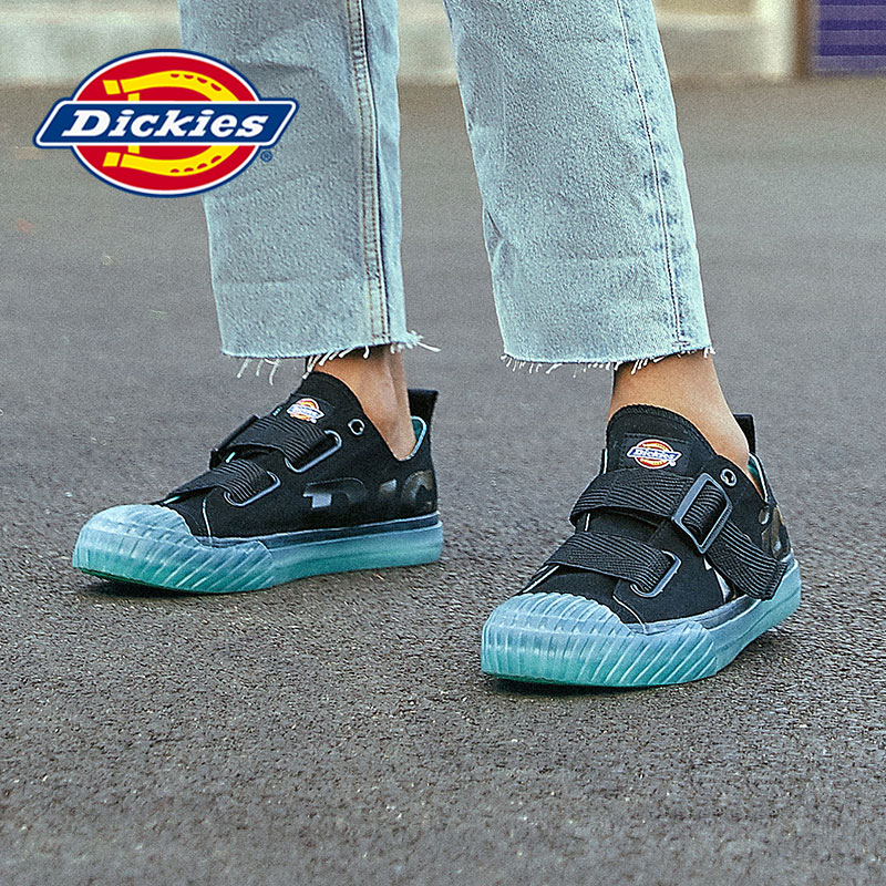 Dickies men's shoes 2020 new board shoes men's Korean version all-around canvas shoes low top couple fashion jelly casual shoes