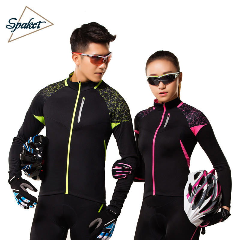 Spakct Si Pake riding suit suit long-sleeved men and women spring and autumn mountain bike clothing riding pants trousers