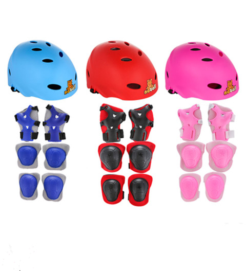 Baby Sports Roller Skating Helmets Baby Safety Cap Skateboards Skates Helmeted Bicycle Equipment