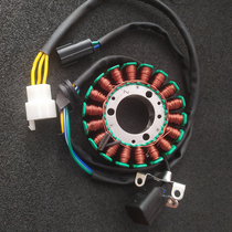 Shengshi ZT310-R T V X ZT250-S R Motorcycle magnetic motor power generation charging coil stator