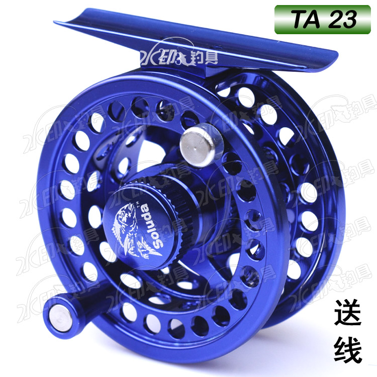 Fish line also includes mail cable Luda AL series single speed belt discharge front wheel TA23 blue workmanship is super good
