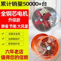 Вытяжной вентилятор сильный высокоскоростной вентилятор трубы промышленный вытяжной вентилятор Вентилятор стены бесшумный кухонная вытяжка