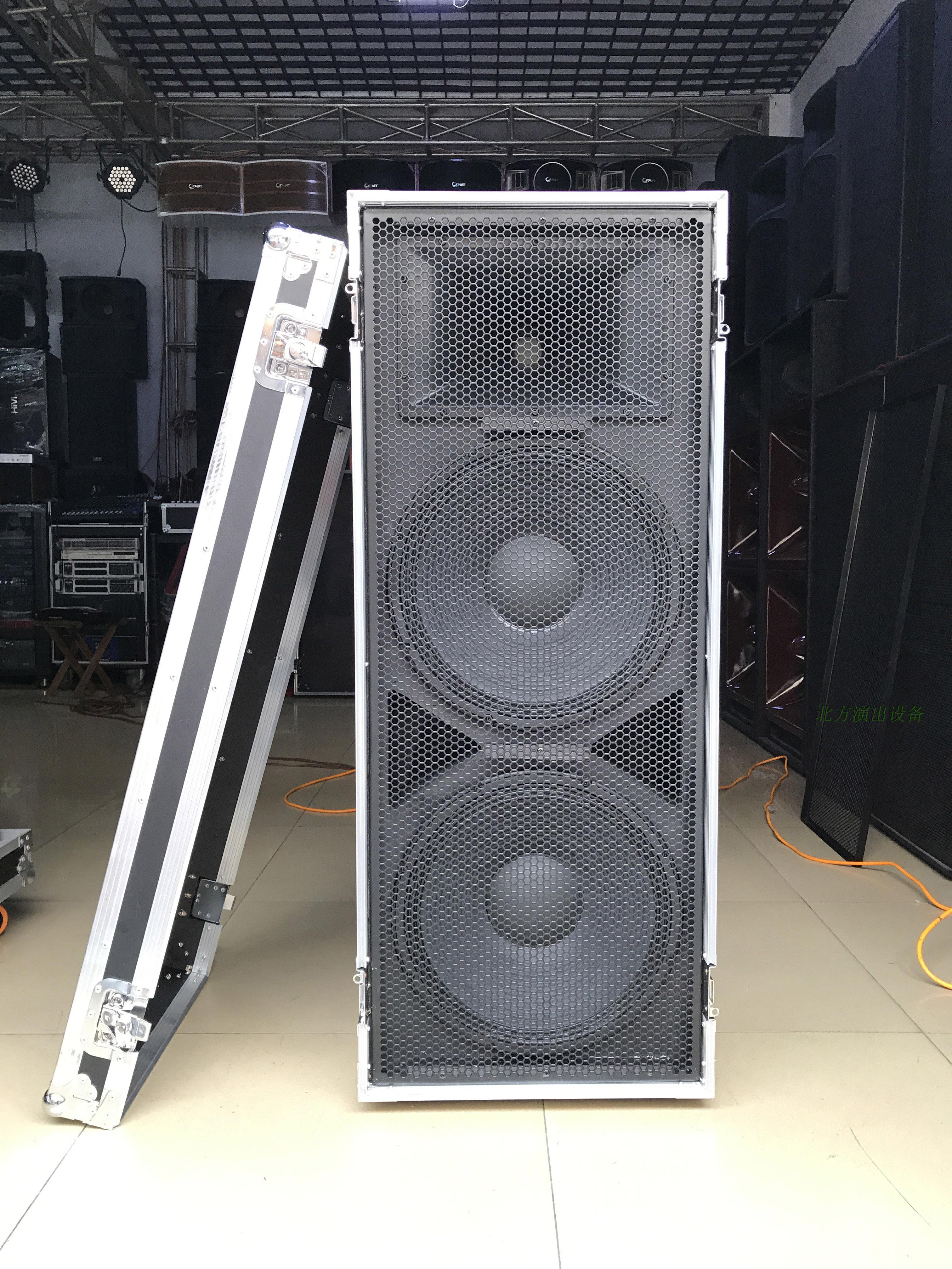 Double fifteen 15 inch aluminum alloy professional stage stage audio set wedding empty box outdoor loudspeaker air box