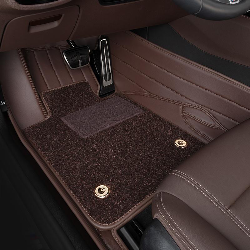The BMW5 Series 530li525li7 Series 730Li740 X3X6X7X5 3 Series 6 Series GT leather footrests are fully enclosed