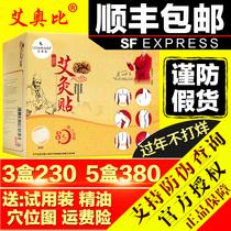 The official flagship store LP Eobi Ai Acupuncture sticker Ai grass paste Ai paste rich bag warm palace cold belly button sticker