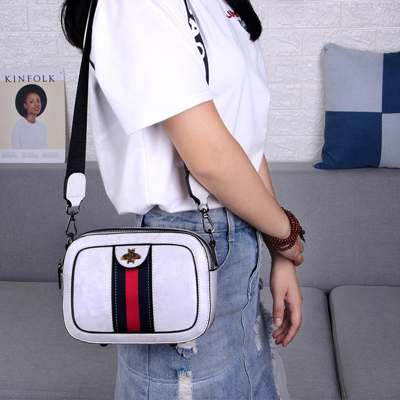 Baobao Girls New Camera Bag Overfire ins Single Shoulder Slanting Leather Girls Bag Fashion
