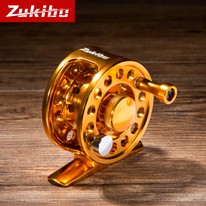 Zhizunfang All-metal Mini Ice Fishing Wheel Special Price Ultra-light Front Wheel Ice Fishing Equipment Winter Fishing Line Wheel