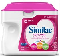 Similac Soy Isomil soybean milk powder in the United States a section of anti-diarrhea gas 1 straight mail